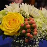 Chapel Hill Academy 2019 Career Fair floral display